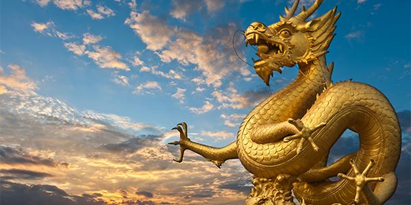 China goud