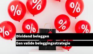 dividend beleggen beleggersstrategie
