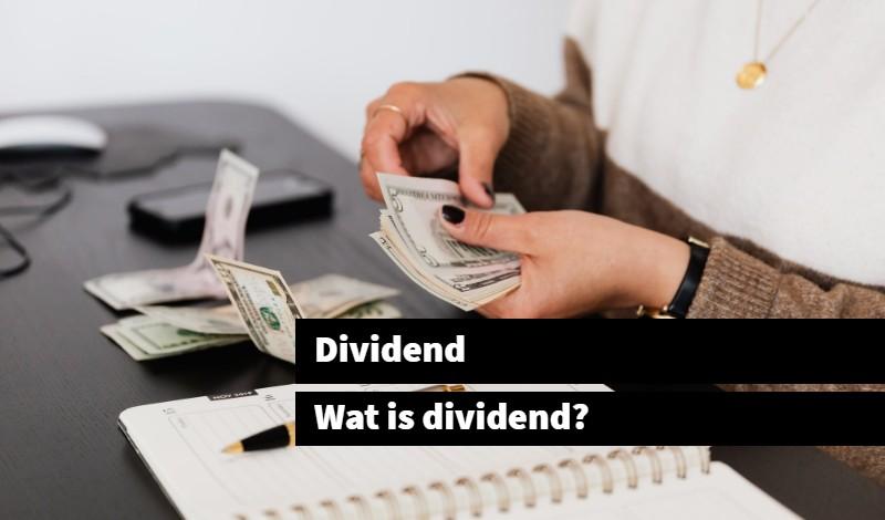 dividend wat is dividend