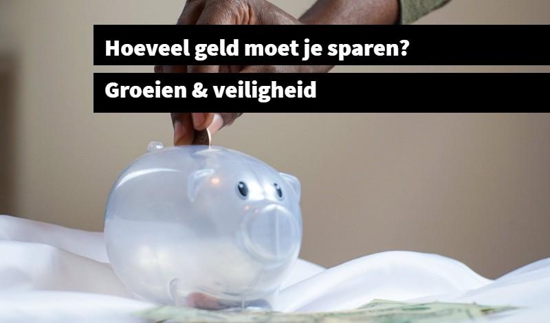 Hoeveel geld moet je sparen