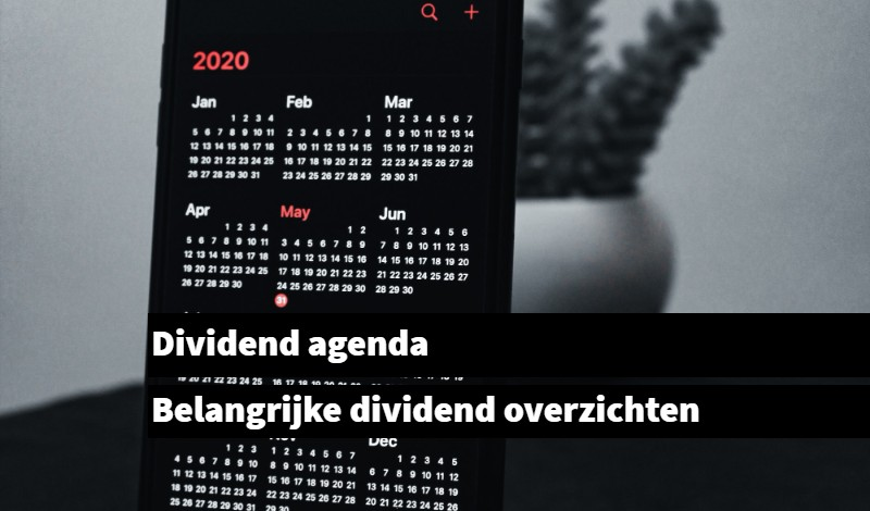 dividend agenda