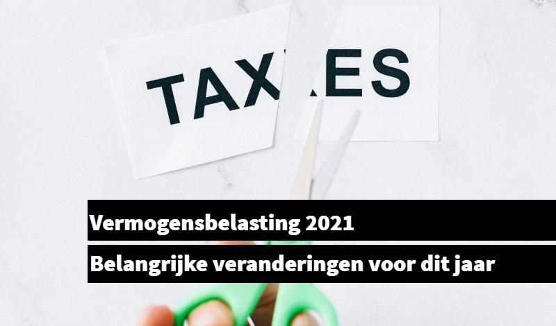 Vermogensbelasting 2021