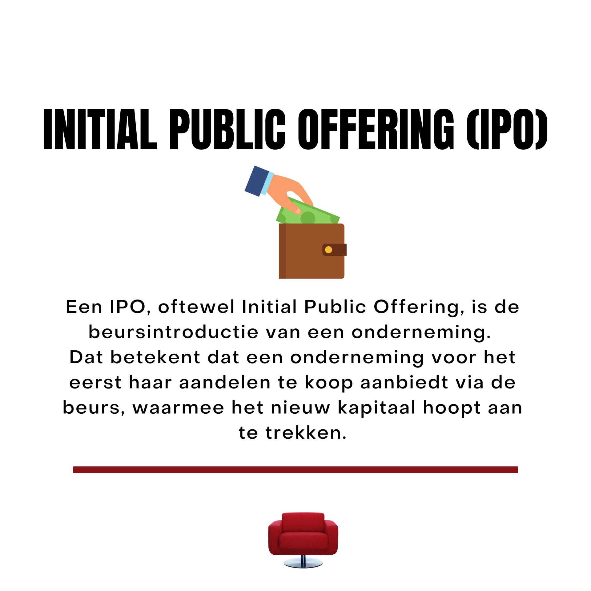 Instagram Beleggingsinstituut IPO tbv Market cap