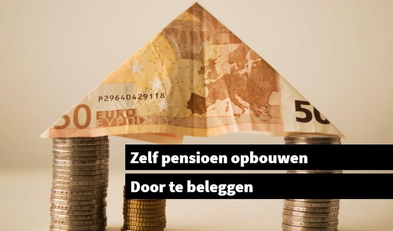 Zelf pensioen opbouwen door te beleggen